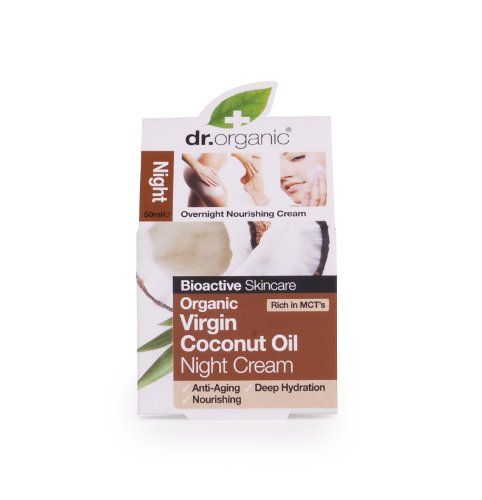Organic Doctor Virgin Coconut Oil 17 Floz Night Cream Intensive Nourishing Skincare By Dr Organic Details Can B Apply Coconut Oil Organic Doctor Night Creams