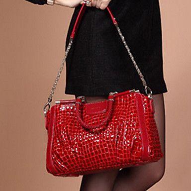 Elma women's Crocodile Vinatge Paten R Leather Bag – USD $ 27.99
