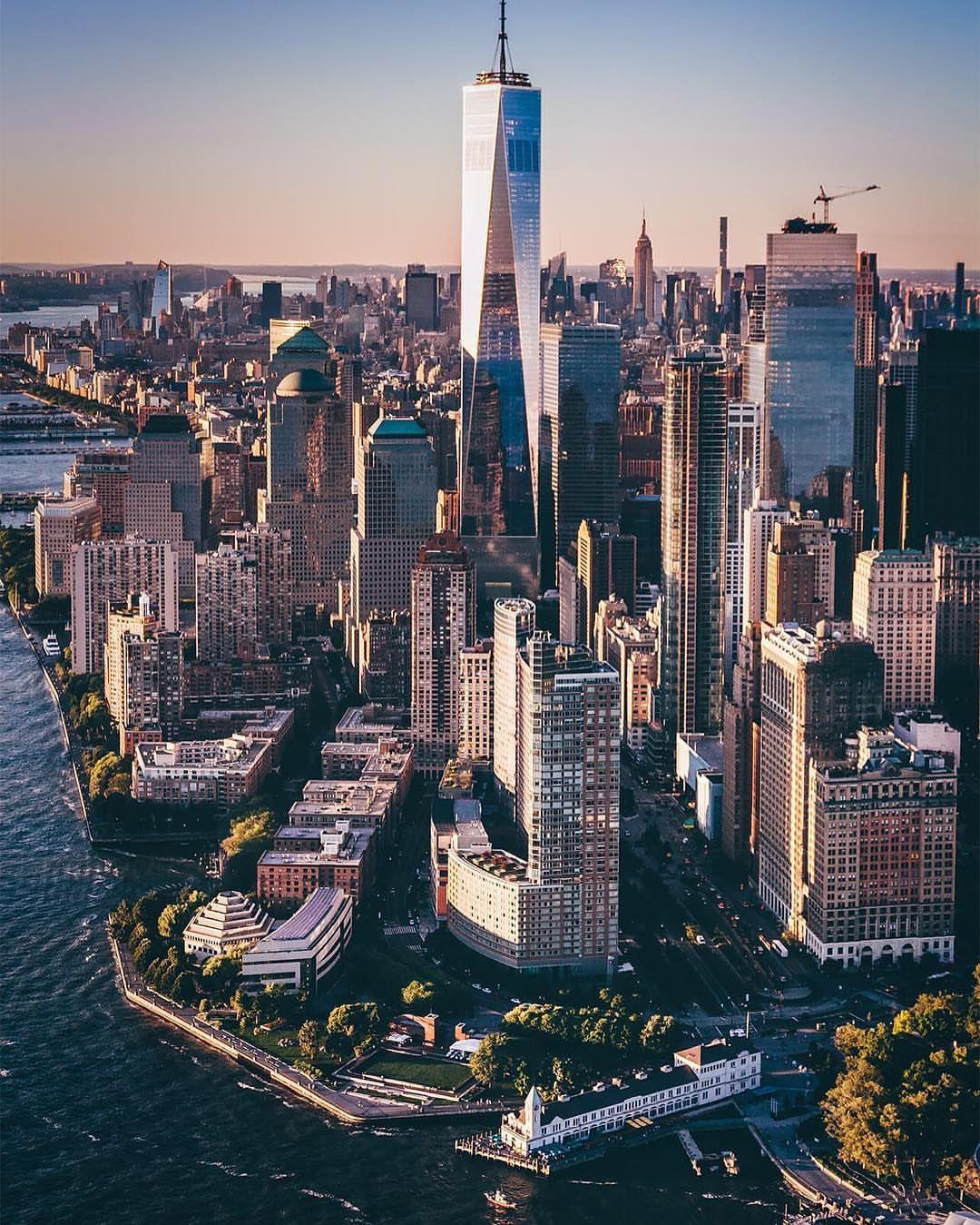 Ny Manhattan: Downtown Manhattan By John.onglatco