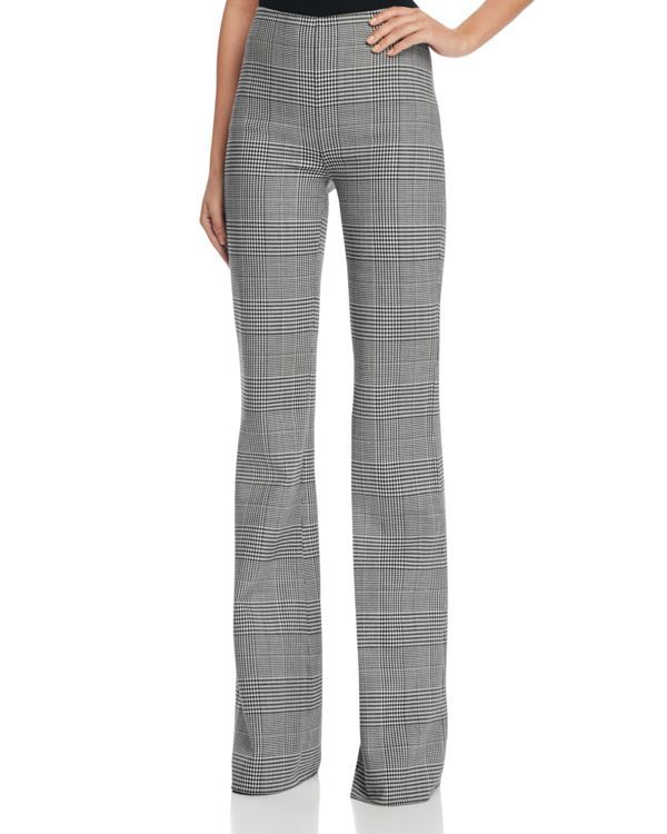bb4aa75d61b Theory Demitria Portland Glen Plaid Flare Pants | Fashion | Pants ...