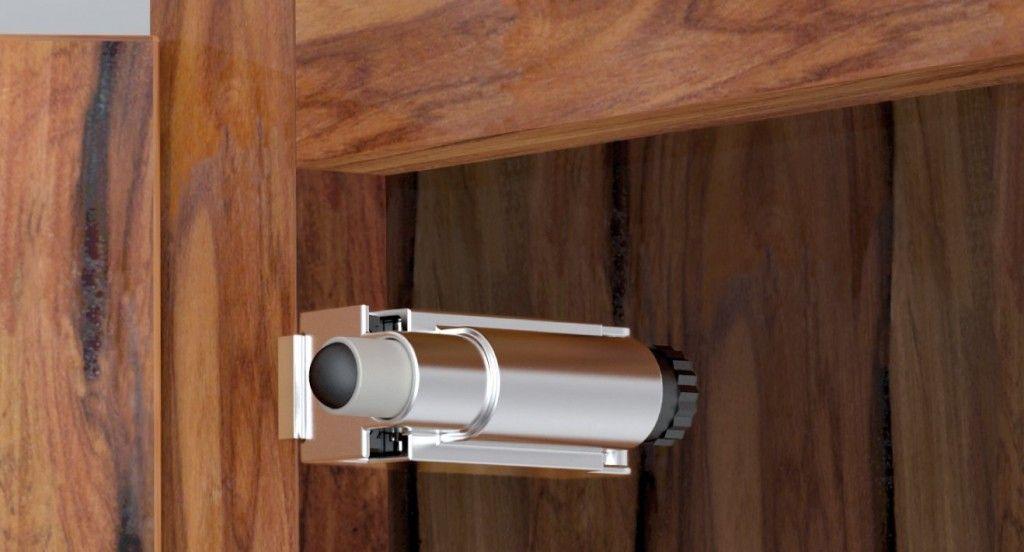 How To Fix Door Stopper With Images Anti Slam Door Door Installation Door Hinges