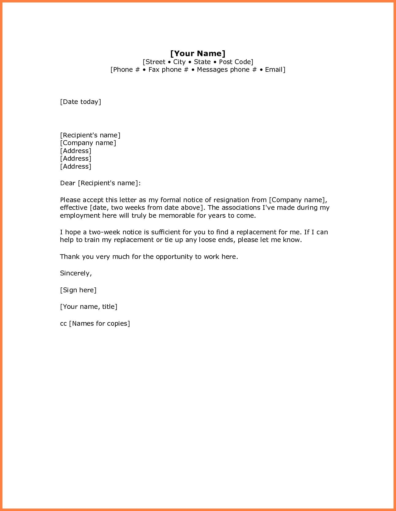 Best Refrence New Leaving Letter Template By Httpwaldwert Visit