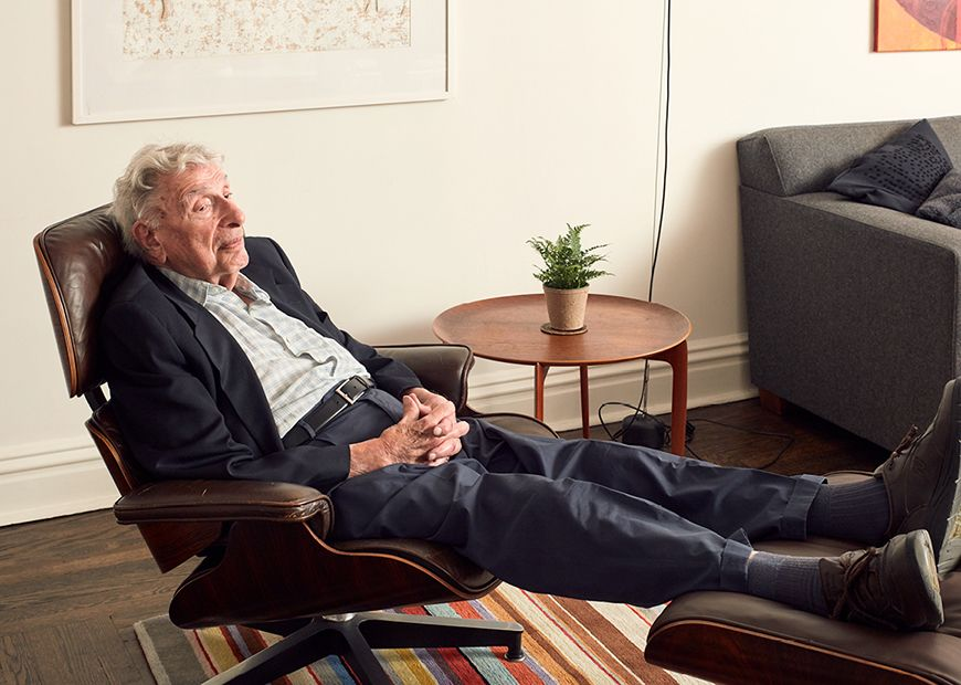 Carl Glick In 2016 In The #Eames Lounge Chair He Purchased In 1966 @ Hermanmiller