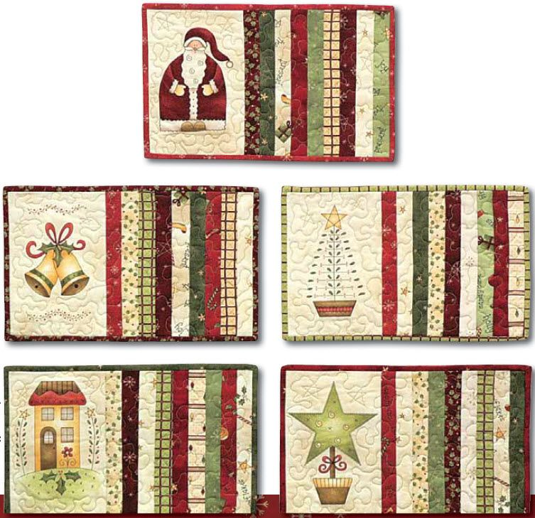All Things Christmas Free Placemat Pattern Placemats Patterns Christmas Quilting Projects Christmas Placemats