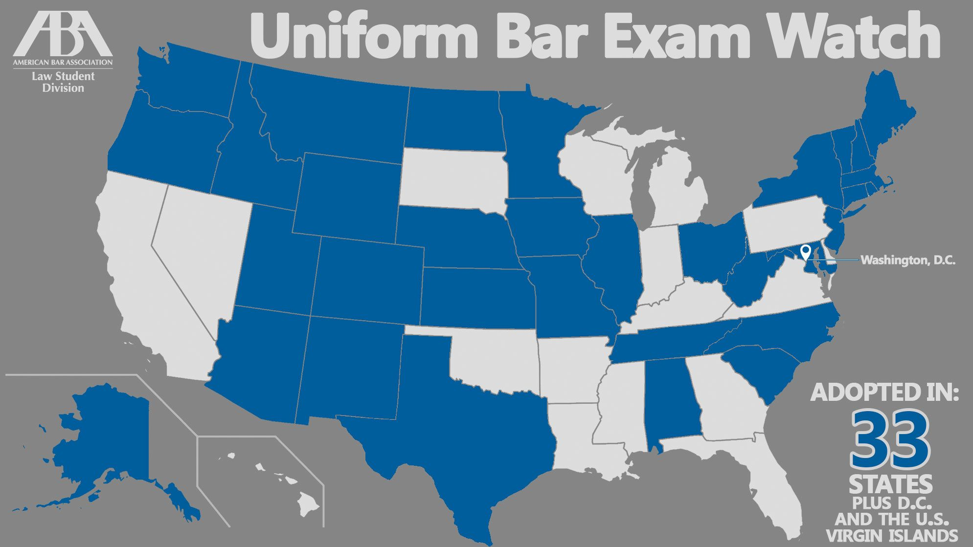 It's official—Texas adopts the Uniform Bar Exam Law