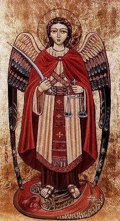 El impresionante Archangel Michael (Arcángel Miguel)...nuestro protector y el que dio (y dará) otra nueva paliza at Querubín Satán (este Satán debe ser masoquista o algo así)