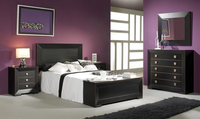 Dormitorio lavanda y chocolate Decoracion Pinterest