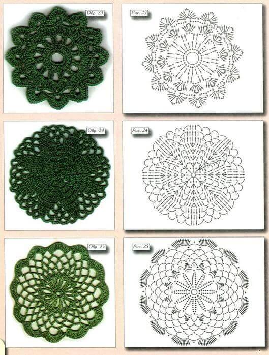motivo13.JPG (529×698) | CROCHET 1 | Pinterest | Esquemas, Tejido y ...