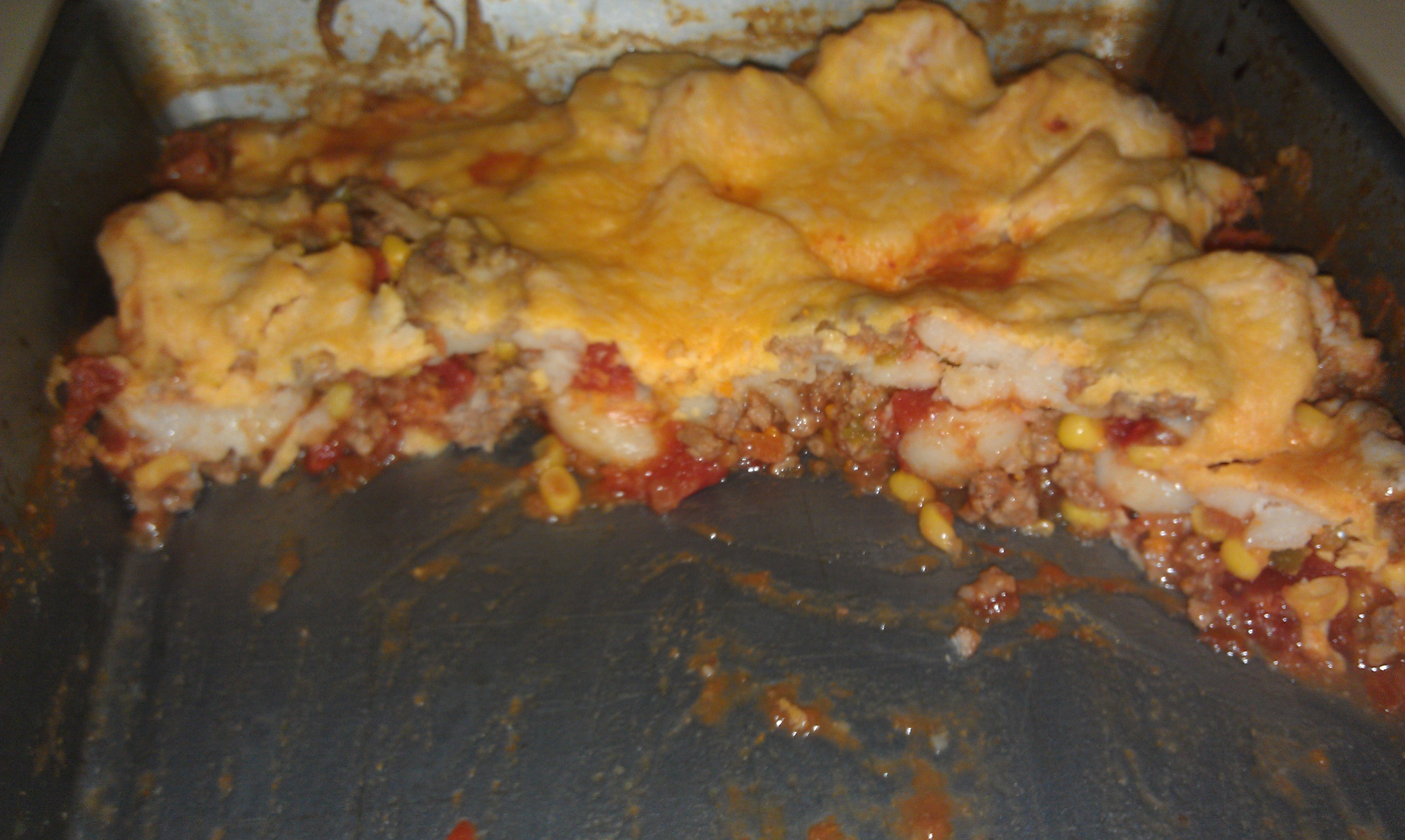 Corn Casserole 1 Pound Browned Ground Beef 1 Can Mexicorn 1 Can 14oz Diced Tomatoes 1 Small Can Tomato Sauce 2 C Canned Tomato Sauce Corn Casserole Food