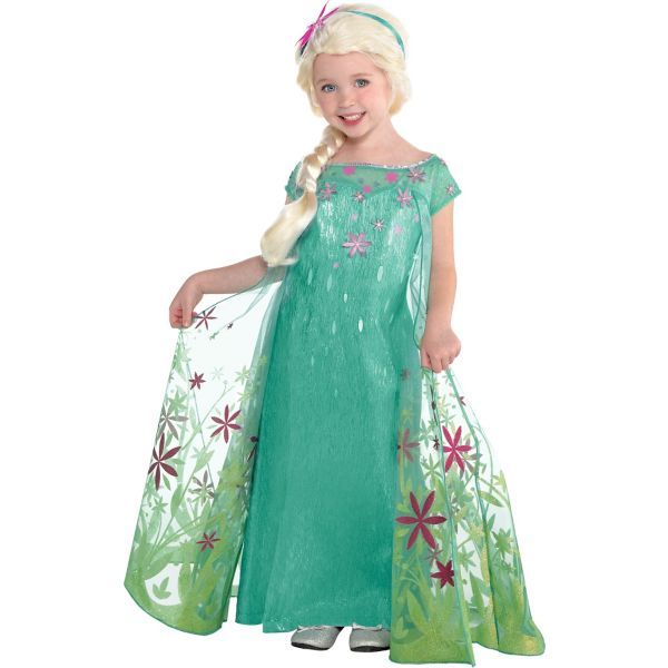 5 clearance at Party City Toddler Girls Elsa Costume Supreme