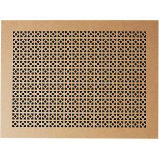 Timber decorative panel homebase strip wood