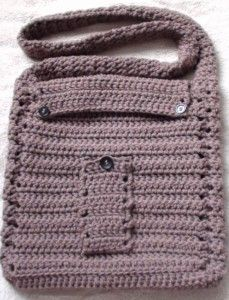 Cq Crochet Shoulder Bag Outside Pocket Is The Perfect Size For Your Cell Phone