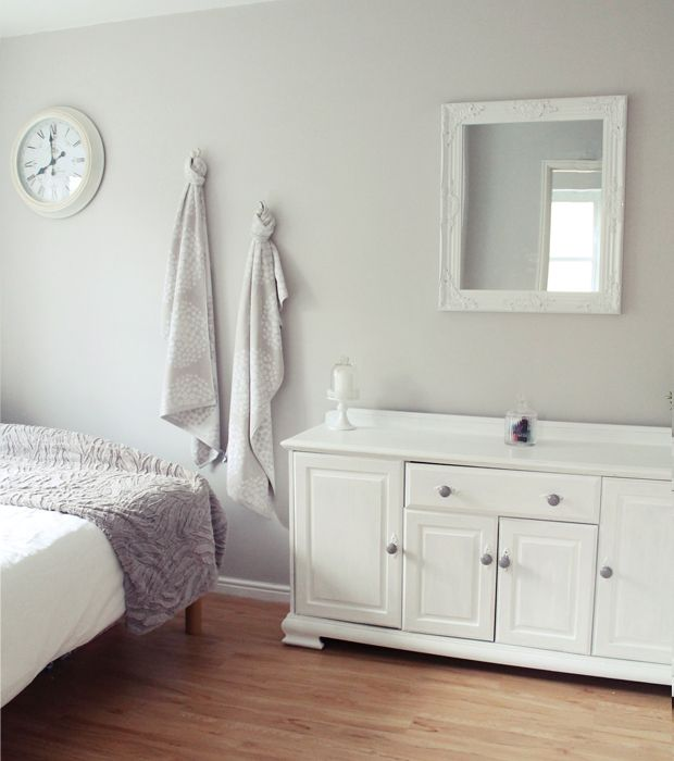 Fashion Inspired Guest Room: Dove Grey Laura Ashley - Google Search