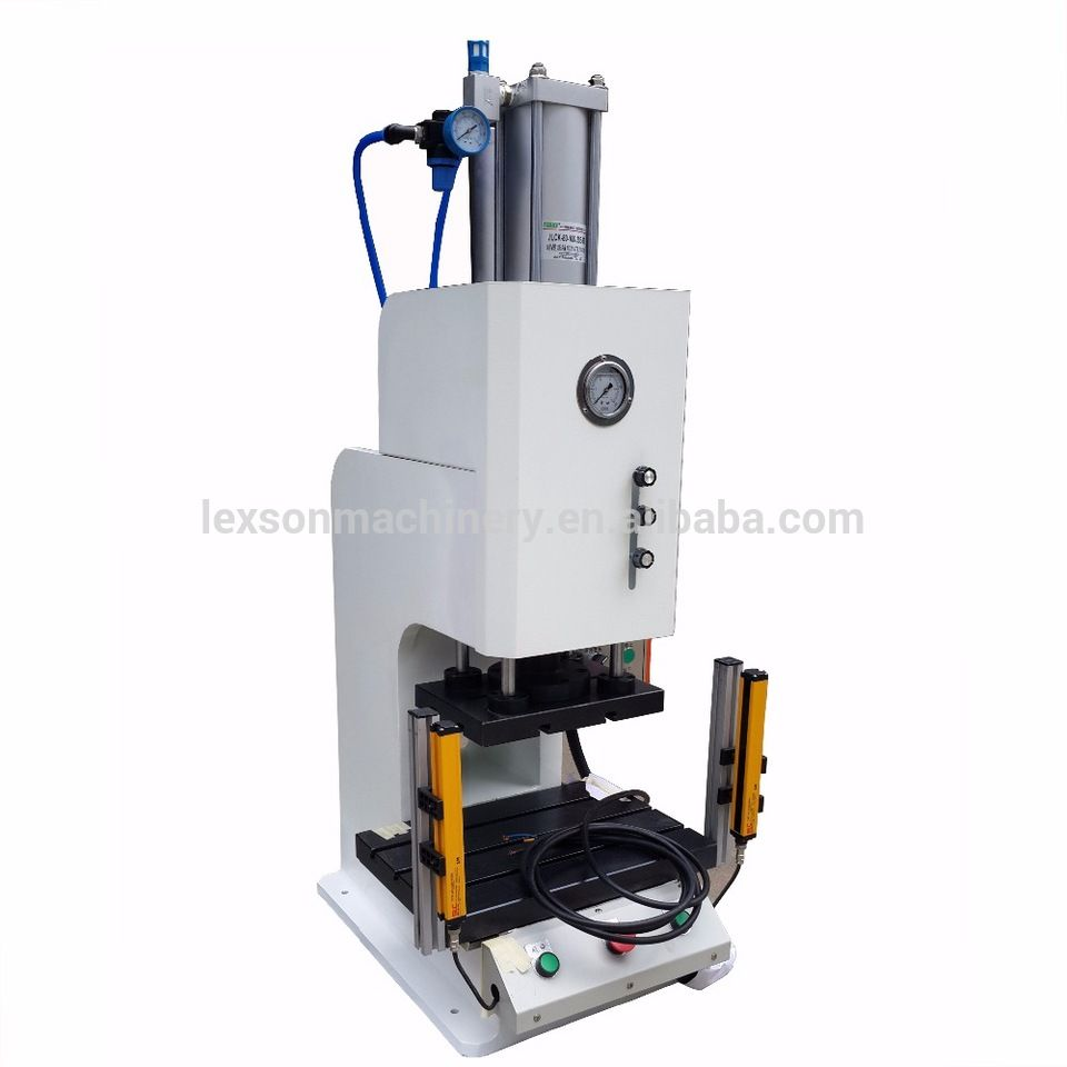 Hydraulic Press Supplier Customized Bench Top Type 2 Ton Pneumatic Power Small Press Machine For Sale Small Press Press Machine Espresso Machine