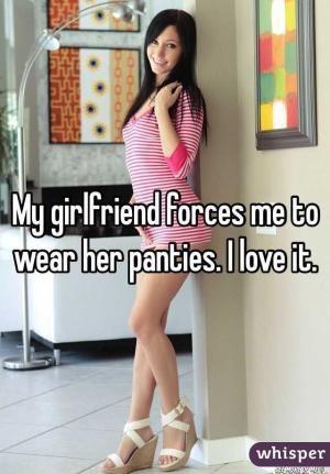 Girlfriend Makes Me Wear Panties Images