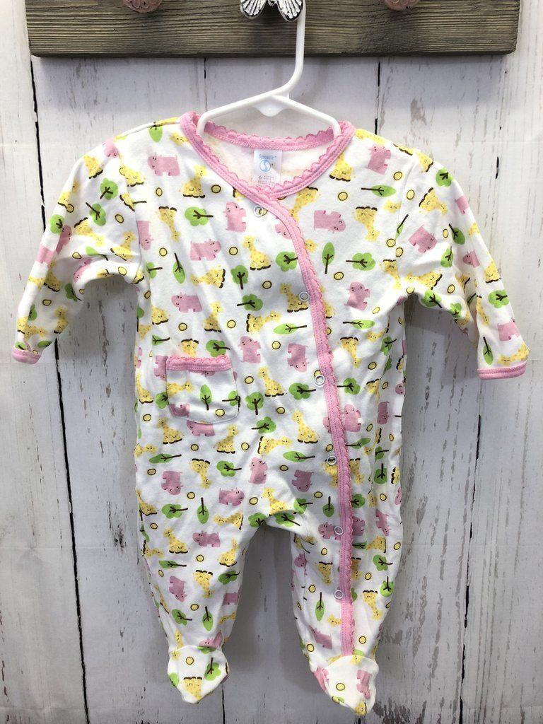 7d5085f9590b Girl s footed pajamas   6 mo