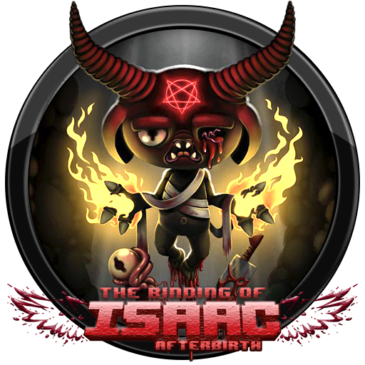 The Binding Of Isaac Afterbirth: Afterbirth Icon By Andonovmarko