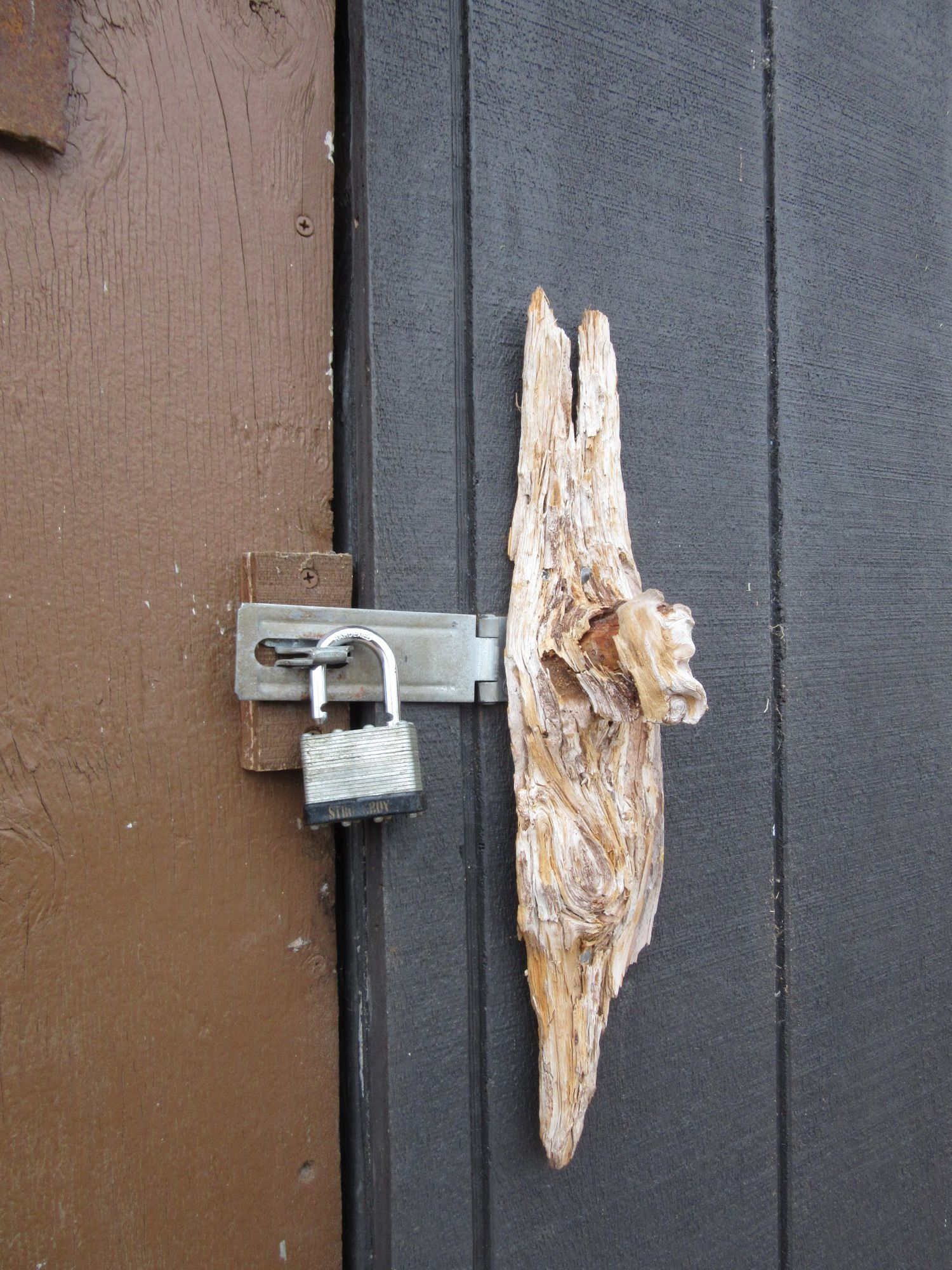 Found a wood knot and used it as a door knob! | DIY by PattyAnn ...