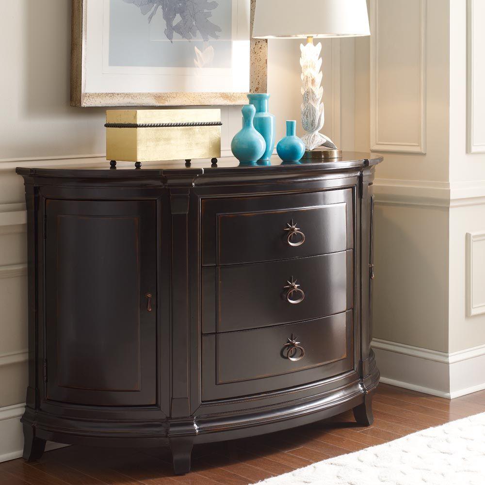 Modern Heritage Demilune Chest Furniture Bassett Furniture Bedroom Furnishings