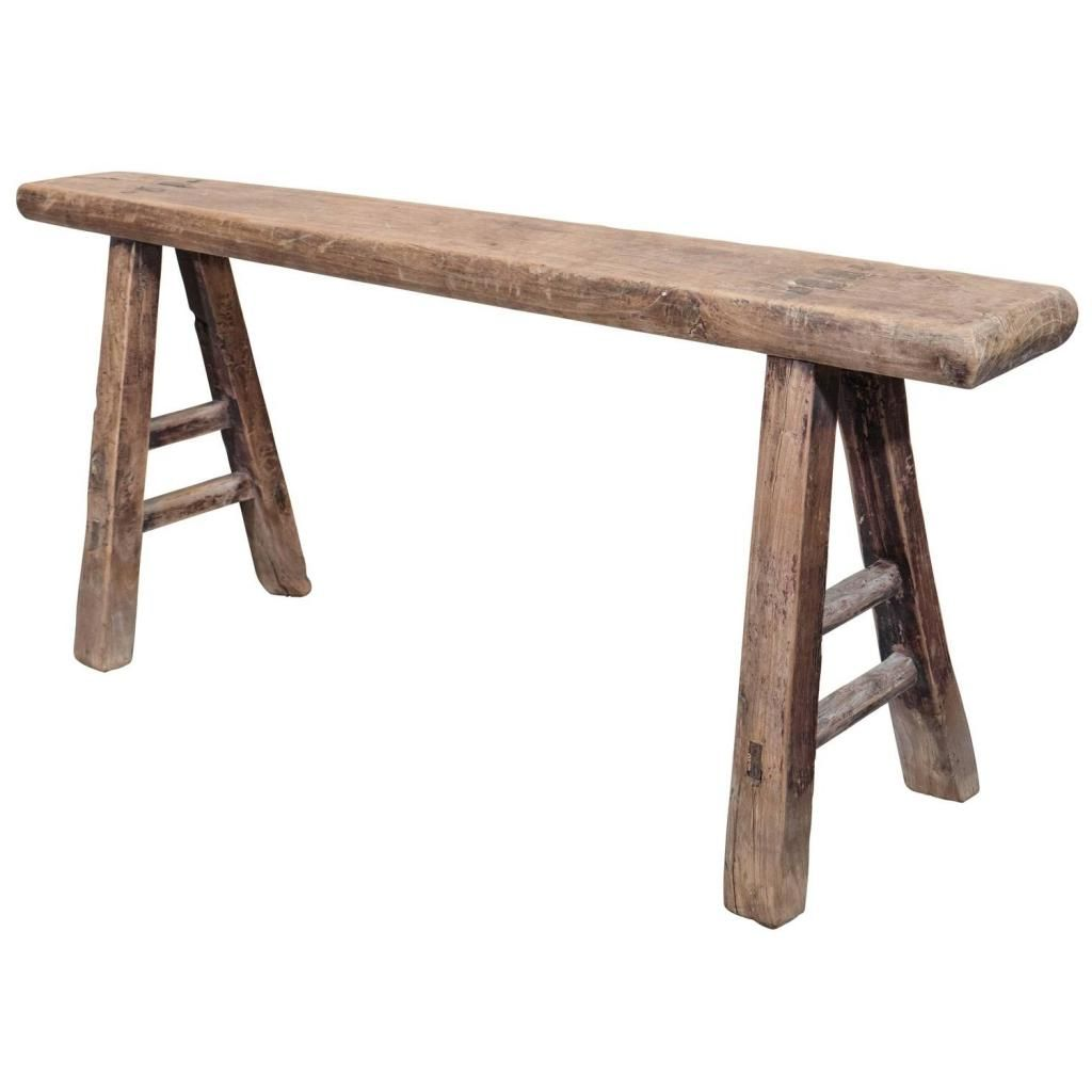Small Wooden Bench For Bathroom Narrow Bench Seat Narrow Bench