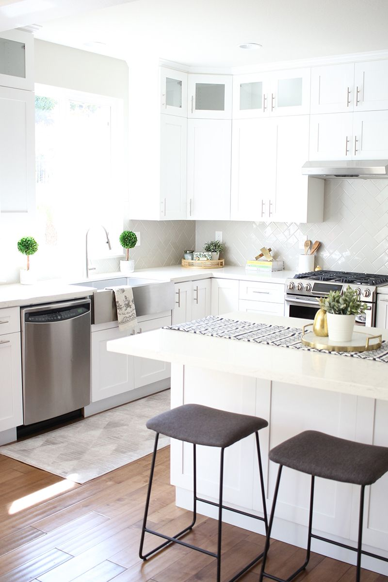 Kitchen Remodel Transformation and Budget Breakdown In ...