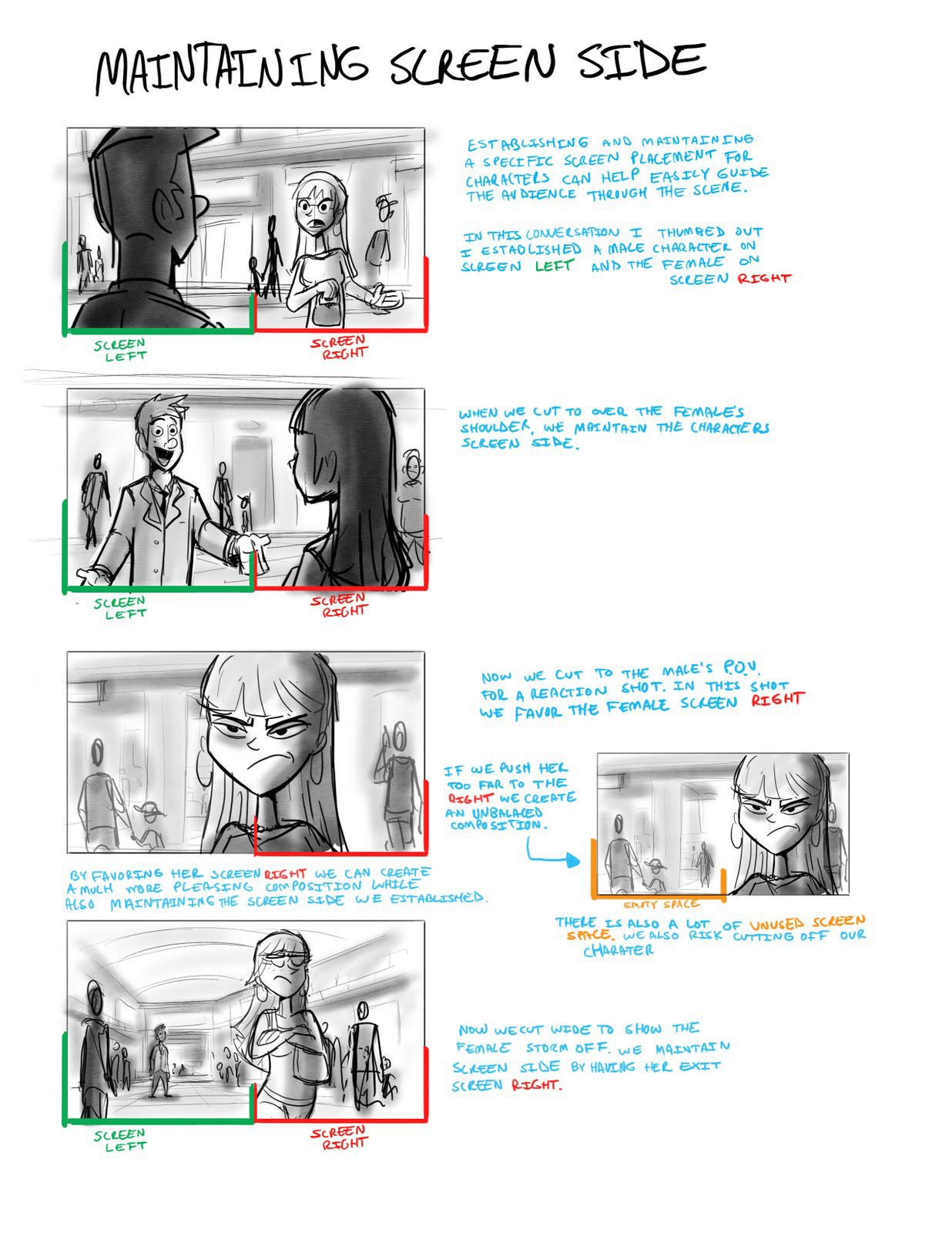 How to Draw for Storyboarding Storyboard, Comic tutorial