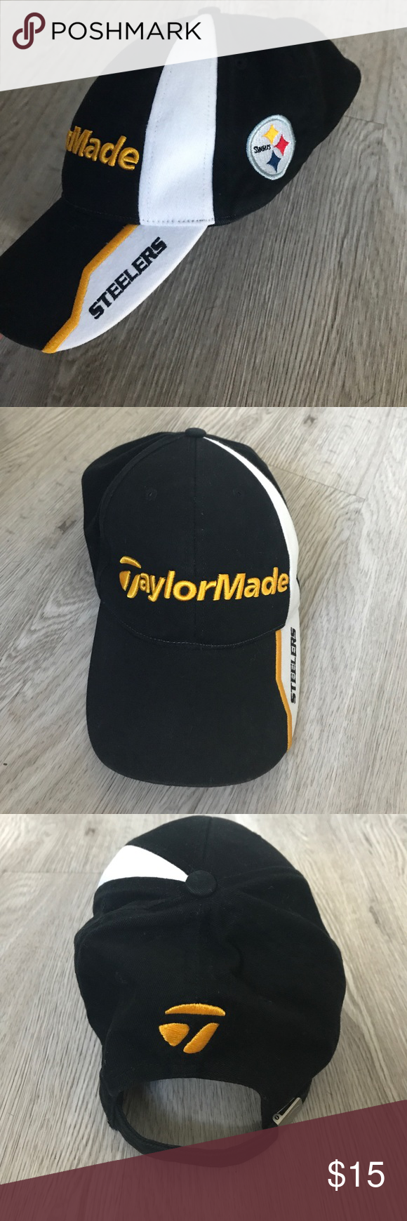 Limited Edition Taylormade Pittsburgh Steelers Hat Limited Edition  Taylormade Pittsburgh Steelers NFL Golf Hat. This d4ec1c77a