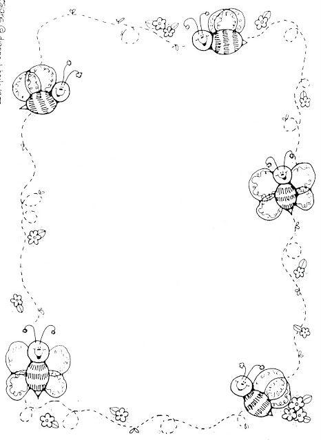abejas animadas para colorear - Buscar con Google | Ale | Pinterest ...