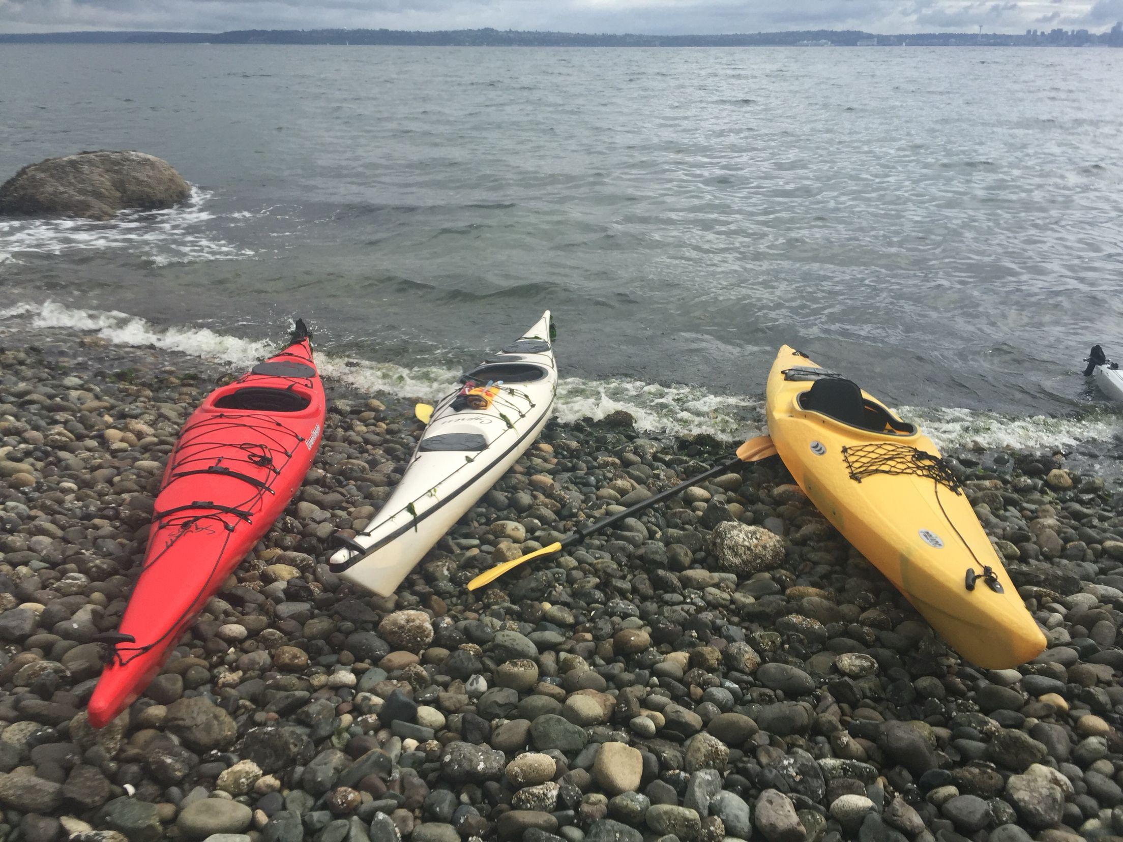 Bainbridge Island, WA kayaking