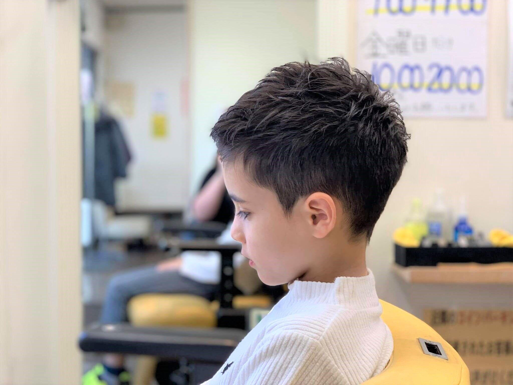 男の子短すぎない刈り上げベリーショートスタイル詳細はコチラです ボーイズヘアカット こども 髪型 子供カット