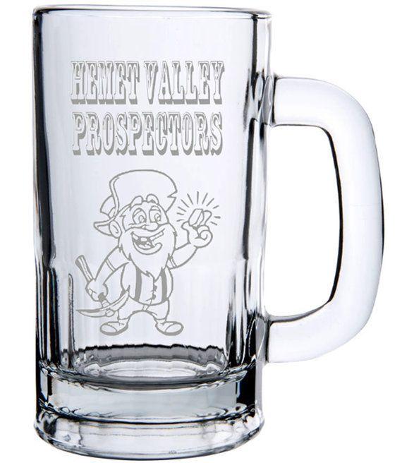 Hemet Valley Prospectors Club Beer Mug Hemet GPAA by LightedBottle