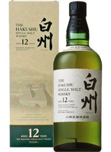 "The Hakushu 12 Year Old Japanese Single Malt Whisky. Aged for a minimum of 12 years, this #whisky was named ""Best in Class"" and earned a score of 92 points from the Beverage Testing Institute. 