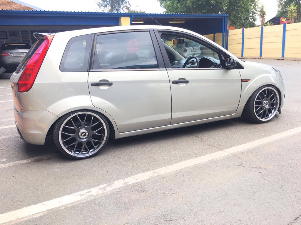 Ford Figo Stance Ffsa Fordsquad Projectf Southafrica Bbs