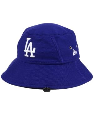 03a8403700fed New Era Los Angeles Dodgers Clubhouse Bucket Hat - Blue Adjustable ...