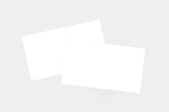 Blank Business Card Mockup Template Graphics **Blank Business Card - blank card template