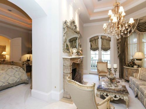 Estate Of The Day 16 8 Million French Renaissance Mega Mansion In Texas Luxurious Bedrooms Montgomery Homes One Bedroom Apartment
