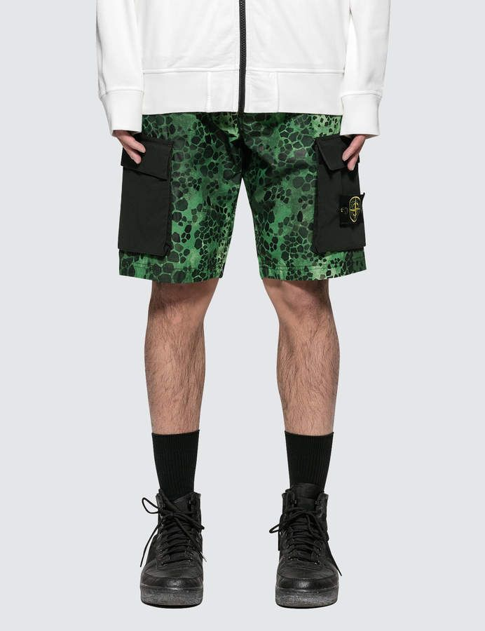 570eeac92f2da Shorts | Products | Stone island shorts, Stone island, Patterned shorts
