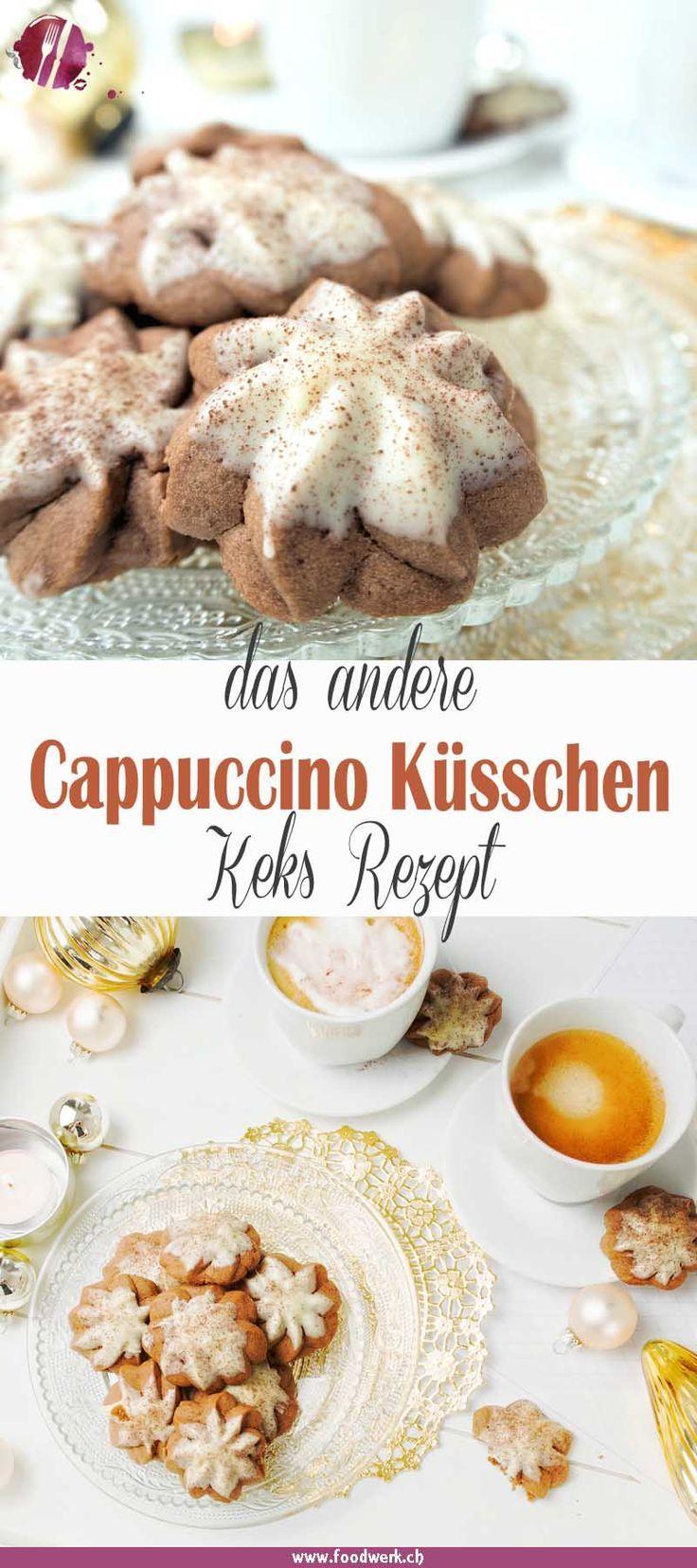 Cappucchino- Küsschen, Plätzchen Rezepte über Grenzen hinweg #christmascake