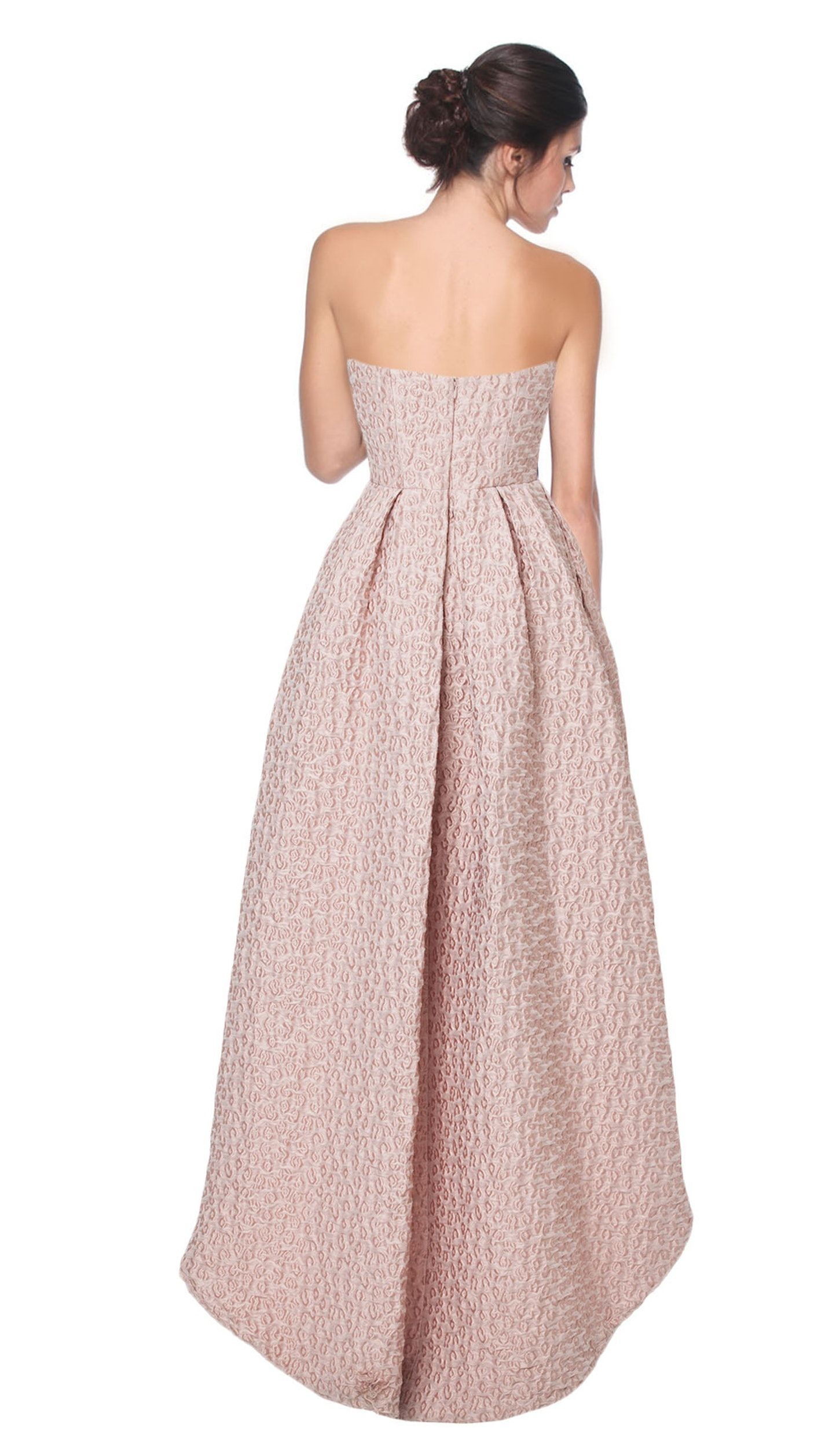 Strapless dusty rose dress cynthia rowley hire dresses long hire a dress with gorgeous jacquard detail in this dusty rose colour that will make you the best dressed guest this season hire bridesmaid dresses or s ombrellifo Choice Image