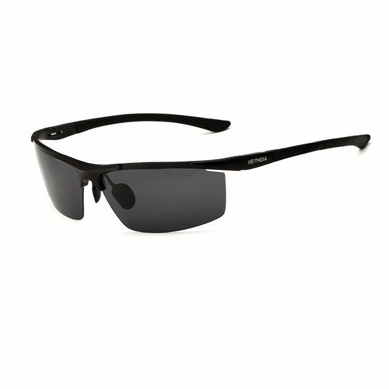 d8bb9fee27c7 Aluminum Magnesium Alloy Sunglasses UV Protection Polarized Driving Outdoor  Eyeglasses at Banggood