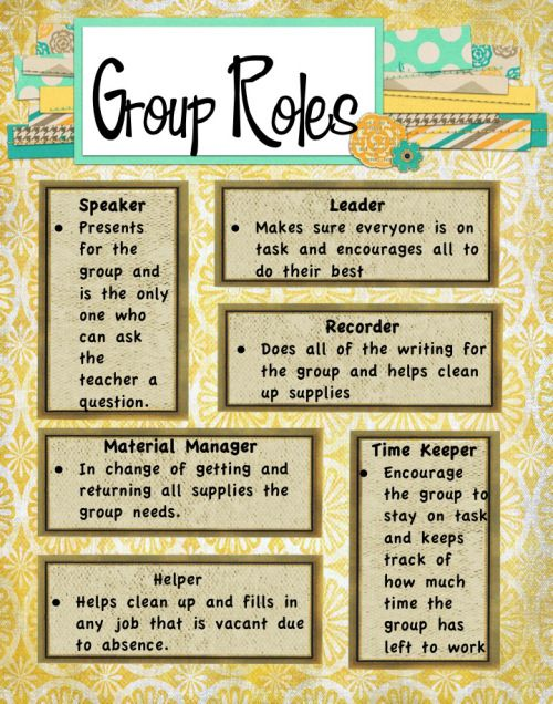 Best 25+ Group roles ideas on Pinterest | School jobs ...