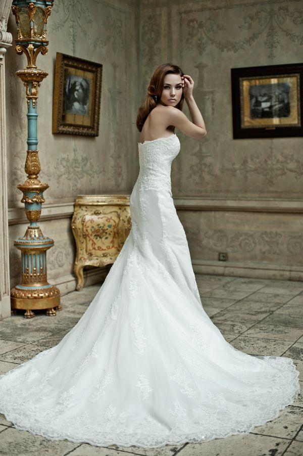 съемка свадебных платьев