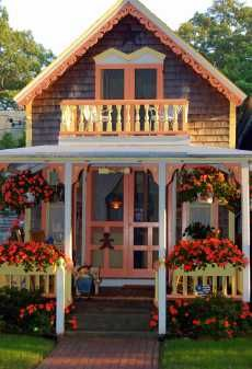 Taking it a step further is the ginger bread victorian for Victorian style modular homes