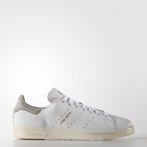 100% authentique a5f33 e9a5e Adidas Chaussure Stan Smith Couleur White/Clear Granite ...