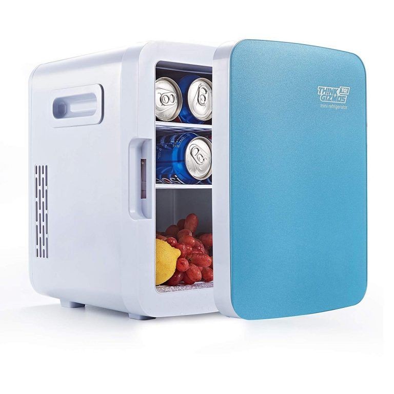 Think Gizmoz Mini Fridge Cooler Warmer Portable 10l Cool Mini Fridge Mini Fridge Fridge Cooler