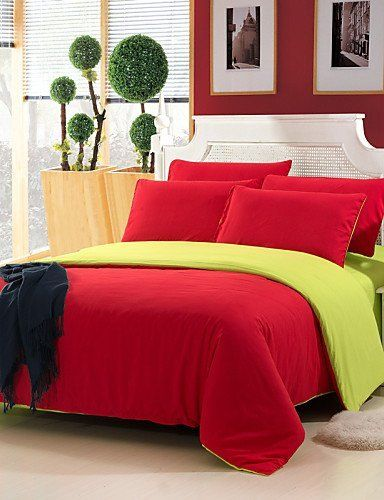 #sale Type:Duvet Cover Sets, Bed Size:Double,  #Sizes:Queen,Full,Twin,  #Patterns:Solid, Material:Polyester, Backing Material:Polyester, Color:Multi Color, Weave Ty...