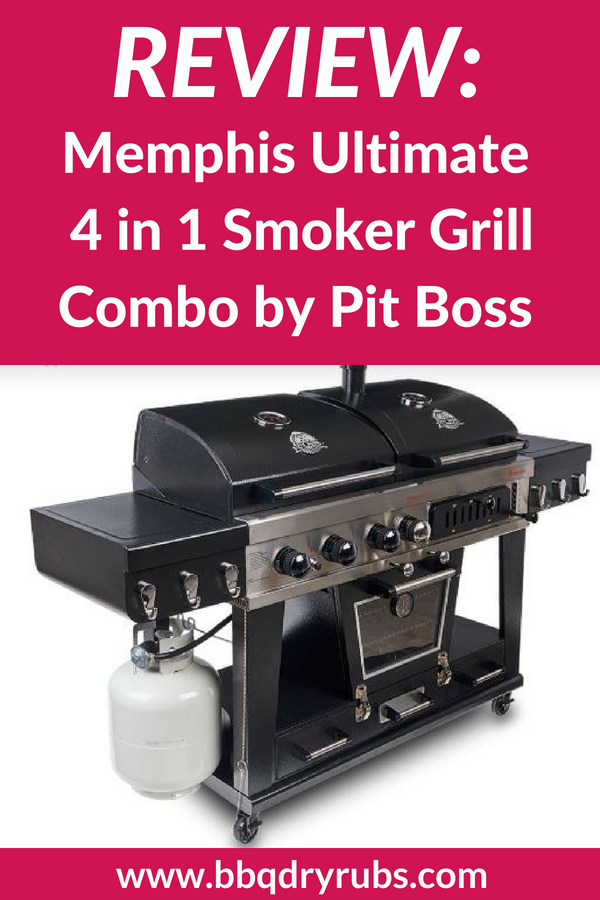 The Memphis Ultimate 4 In 1 Smoker Grill Combo From Pit Boss Is A Beast Of Machine That Actually Quite Pretty I Had Chance To Review One These