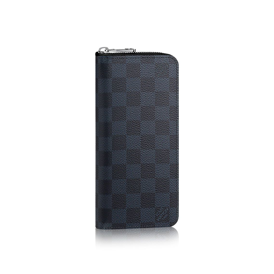 2ed46f56b88f Zippy Wallet Vertical - Damier Cobalt Canvas - Small Leather Goods ...