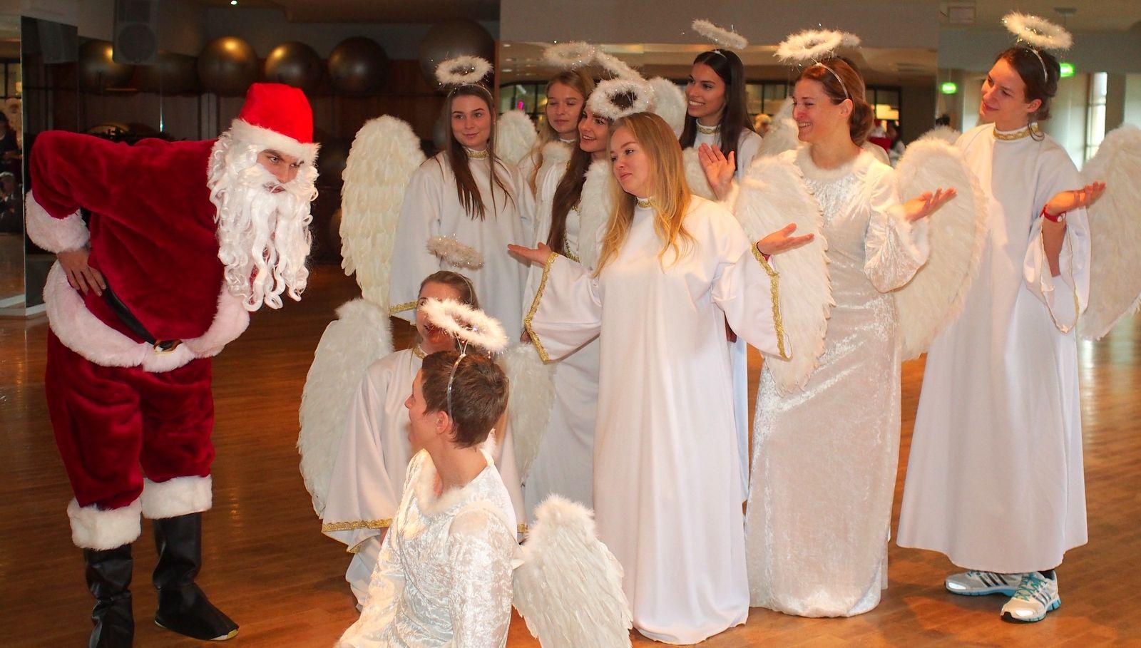 Wenn der #Weihnachtsmann zweimal klingelt ...