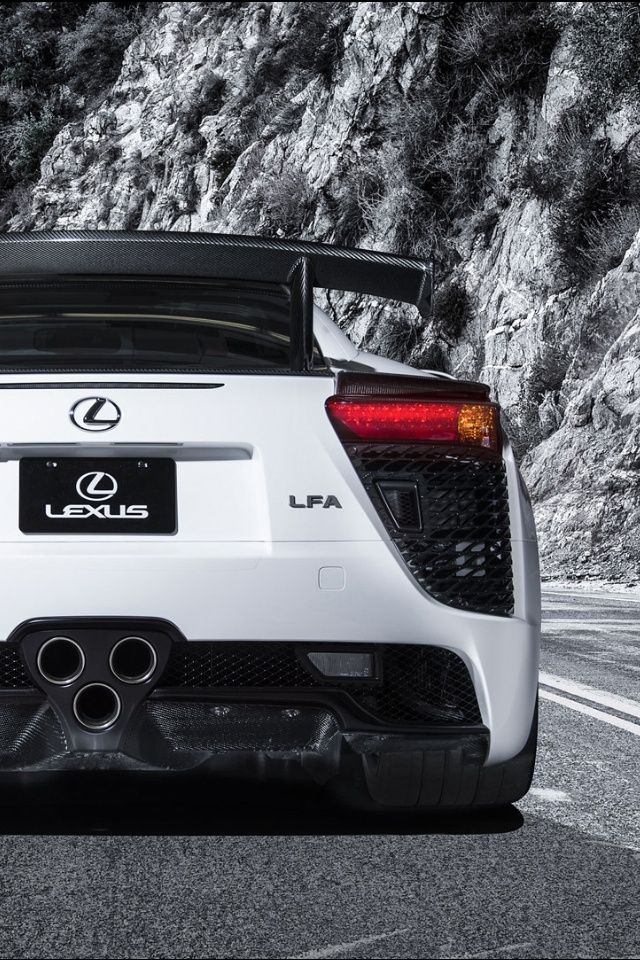 Lexus LFA. The least Lexusish car imaginable, turns out